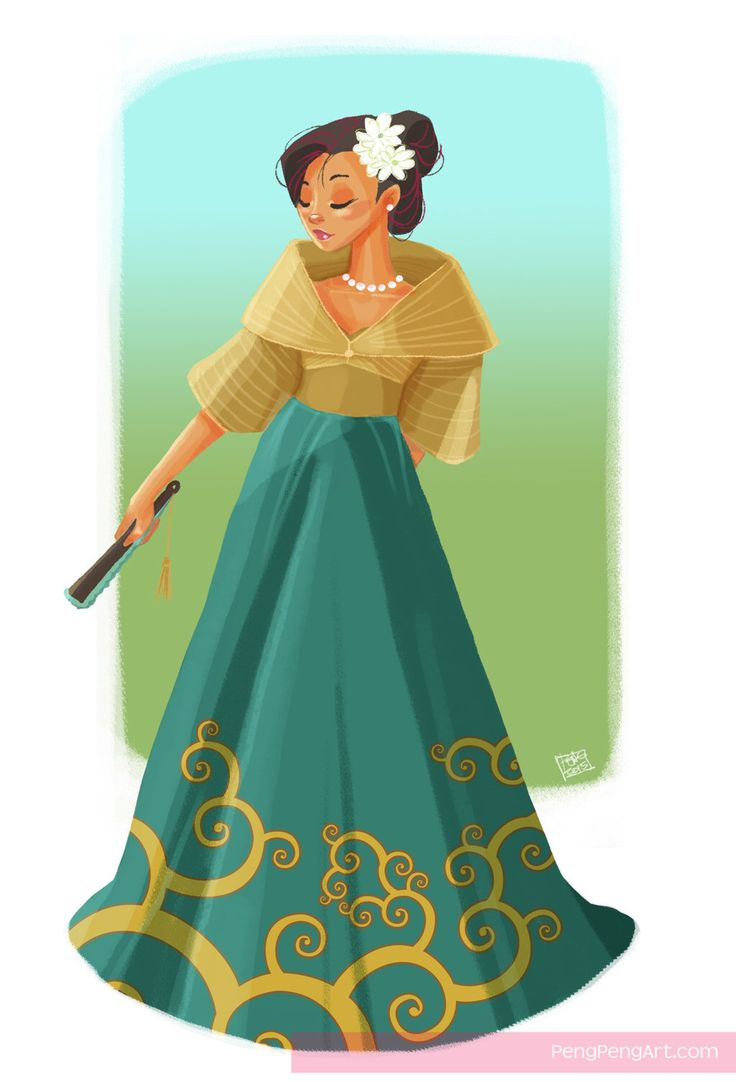 filipiniana maria clara by Peng-Peng on @DeviantArt in ...