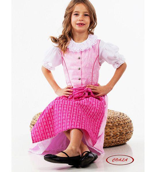 Modell: Viki Rosa  Coala #Kinderdirndl  Coala ist Tradition, Tradition ist Familie, Familie ist Liebe!   #Trachtenmode für Mädchen aus dem Herzen Wiens