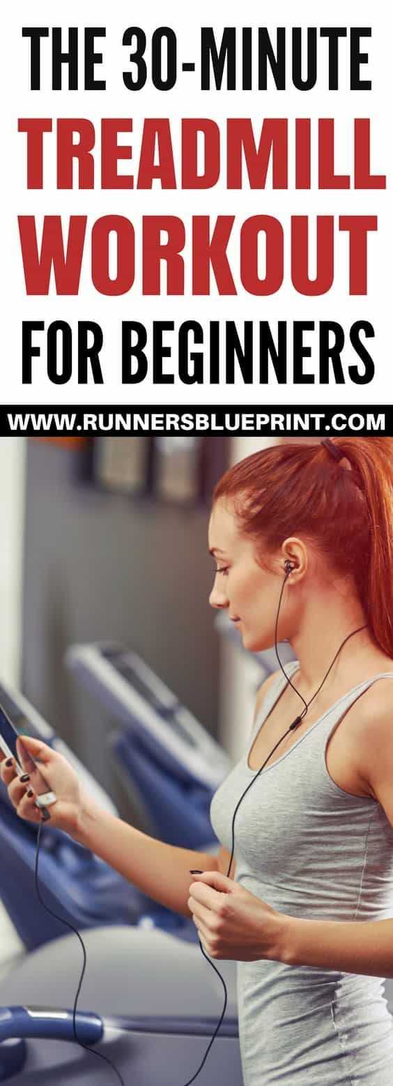 Inside this short post I will be sharing with you a simple and straightforward treadmill workout routine that will set you on the right foot so you can build enough endurance for outdoor runs.  http://www.runnersblueprint.com/30-minute-treadmill-workout-beginners/ #Treadmill #Workout