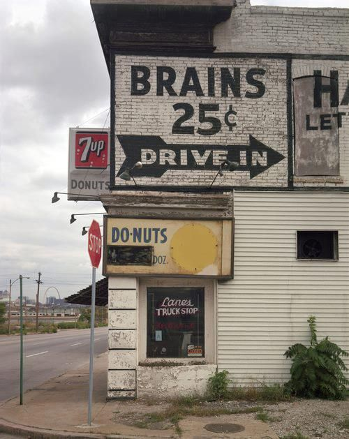 Drive-in and get your brains - only 25 cents