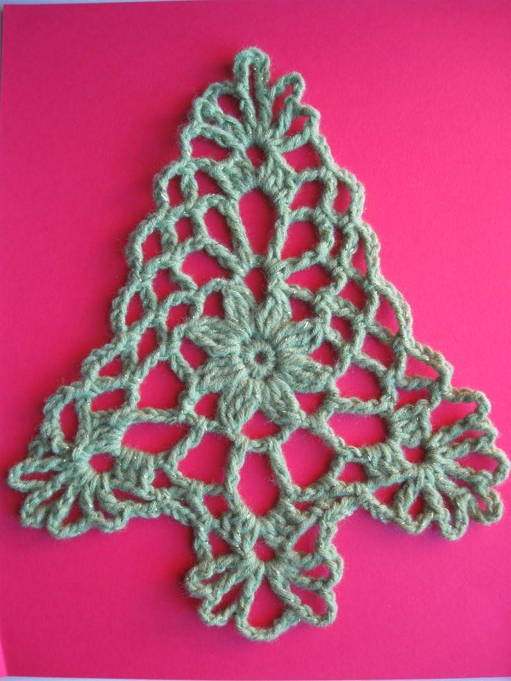 Celtic Knot Crochet Christmas tree by Jennifer E Ryan