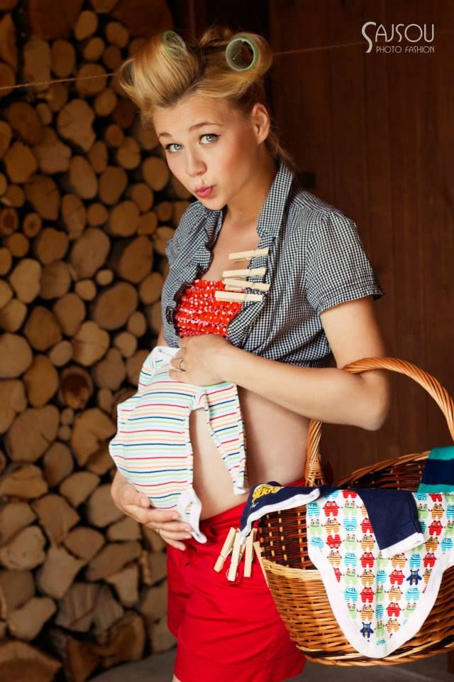 pinup pregnancy