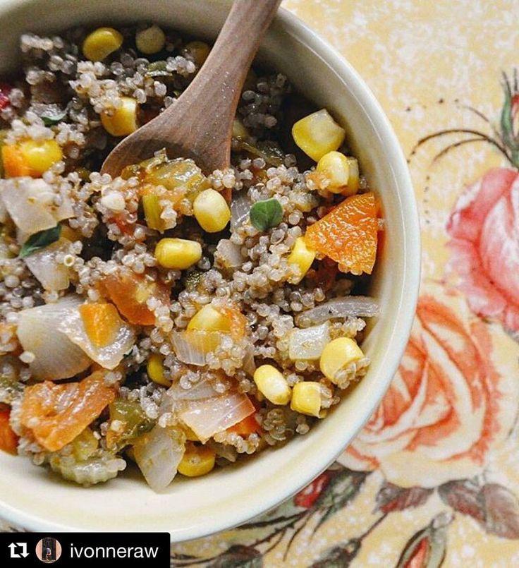 """Y omatican de quinoa por la seca de @ivonneraw…"""""""