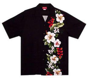 Go ahead, you deserve that Hawaiian vacation. paradise ebony hawaiian aloha shirts @ Lavahut