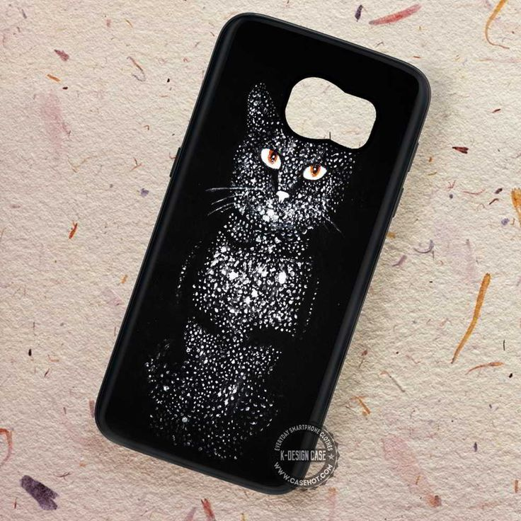 Cosmic Cat Cool Art Pattern - Samsung Galaxy S7 S6 S5 Note 7 Cases & Covers