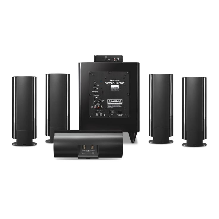 Electronics > Audio > Audio Players/ Recorders > Home Theater Systems > harman kardon HKTS 65 Black