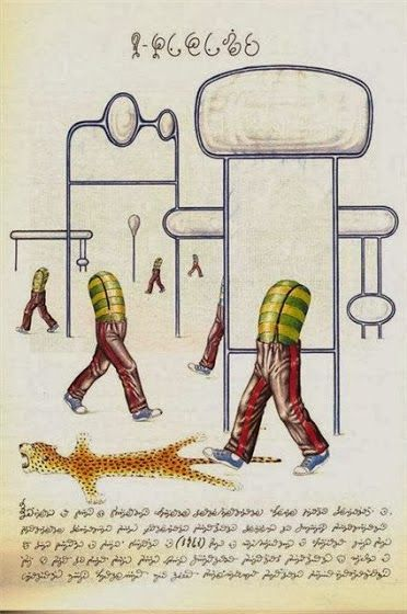 Codex Seraphinianus: the Most Mysterious and Weird Book Ever @ http://www.learning-mind.com/codex-seraphinianus-the-most-mysterious-and-weird-book-ever/ ;