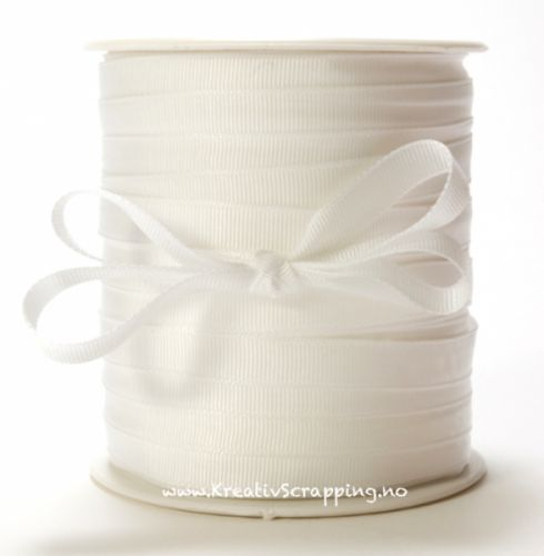 MAY ARTS - RIBBONS NYLON 3/8 - SX01 - WHITE MAY ARTS-Grosgrain Ribbon. This 3/8 inch ribbon is a grosgrain. It would be perfect for gift wrap, card making, sewing, scrapbooking, hair bows and home decor. This ribbon would also be ideal for floral arrangements, weddings, birthdays, Valentine, summer, Christmas and winter projects.This package contains one 3/8 inch.Available in a variety of designs, each sold separately.