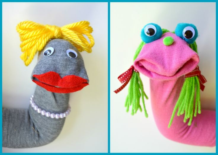 Ever have one of those projects you have every intention of doing, but just… don't? This was mine. I've wanted to make sock puppets for months but never got around to it! I finall…