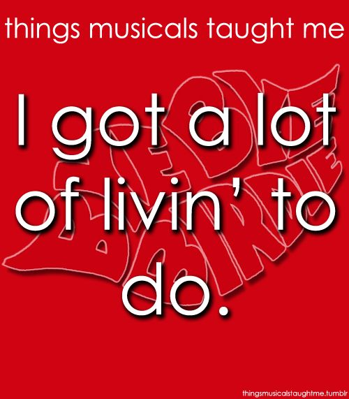 Things Musicals Taught Me Bye Bye Birdie