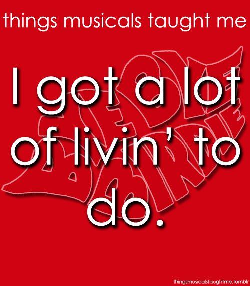 Things Musicals Taught Me Bye Bye Birdie