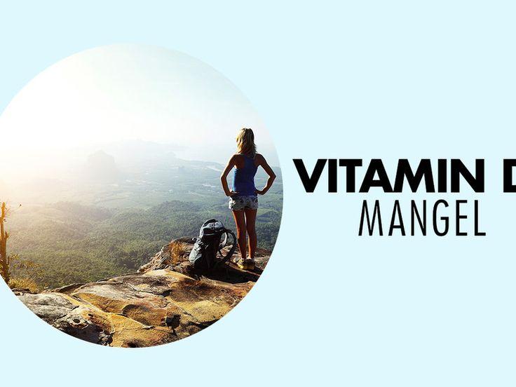 Anzeichen für einen Vitamin D-Mangel