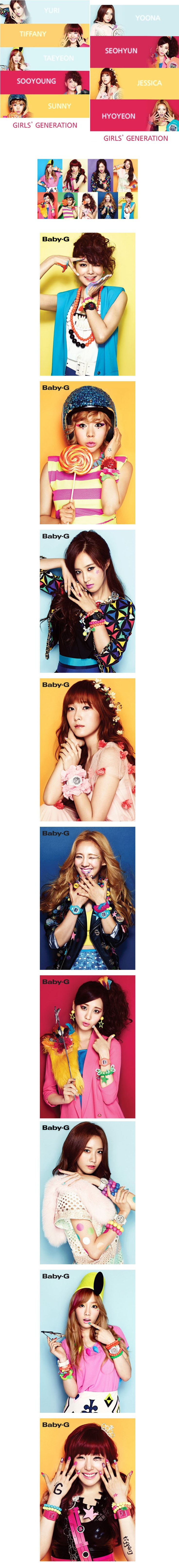 [Girls generation] SNSD CASIO CF Flier set (All members) $5.90 on kstargoods.com (The best kpop shop)