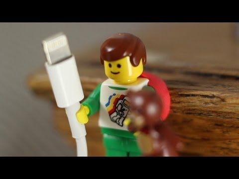 sugru community discovers - LEGO hands fit cables perfectly!
