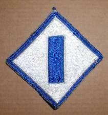 WW2 ERA US ARMY FIRST SERVICE COMMAND INSIGNIA PATCH