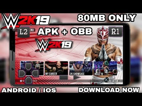 Wwe Game For Android Apk  VIDEO : wwe 2k19 offline game for