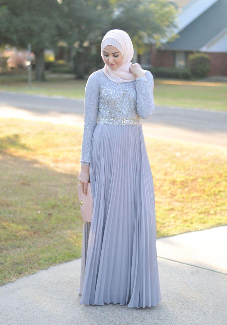 Hijab Evening Gown. Hijab Fashion. With Love, Leena. – A Fashion + Lifestyle Blog by Leena Asad