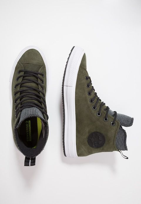 d14eaa834c5 Converse CHUCK TAYLOR ALL STAR WP - Sneakers hoog - utility  green/black/white