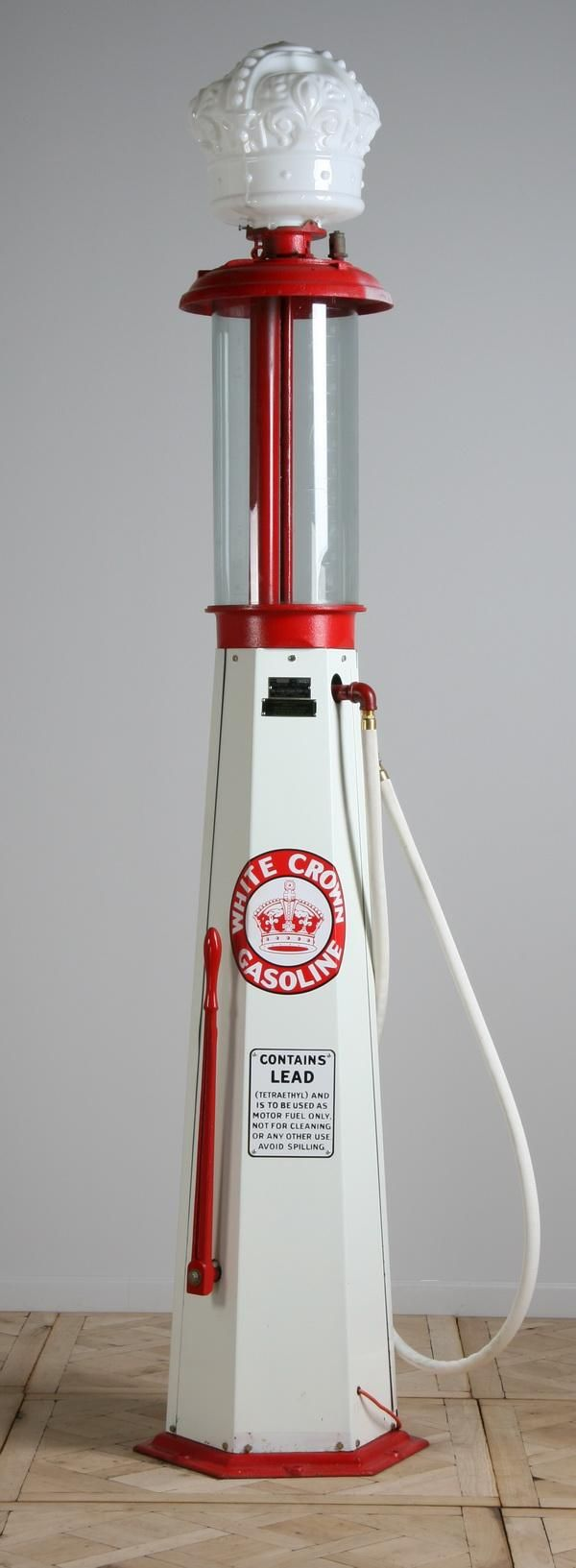 vintage+gas+pumps | 486: Vintage gas pump by Clear Vision Pump Company
