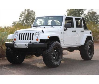 jeep wrangler lifted | 2013 Jeep Wrangler Unlimited SAHARA | White 2013 Jeep Wrangler Car for ...