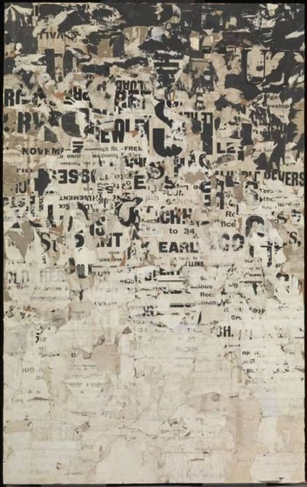 "Gwyther Irwin ""Letter rain"" 1959"