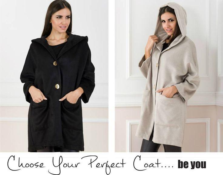 • Beat the Cold • παλτό > https://goo.gl/lBLWh8  #coat #warmup #fallfashion #beyoucomgr #justin