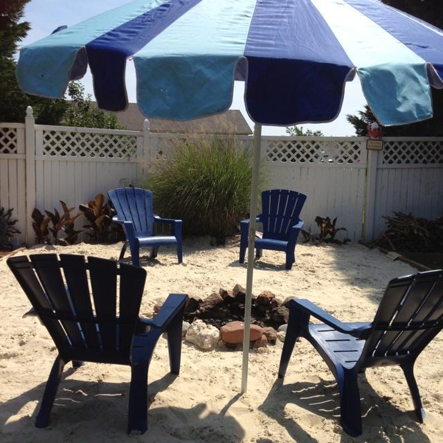My private beach