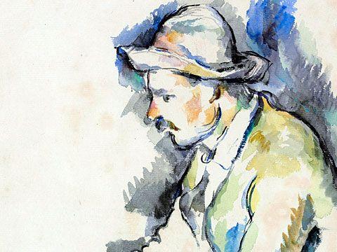 Cézanne - los jugadores de cartas: Paul Cézanne, Arte Ix, Watercolor, Paul Cezanne, New York, Letters, Cézanne Drawing