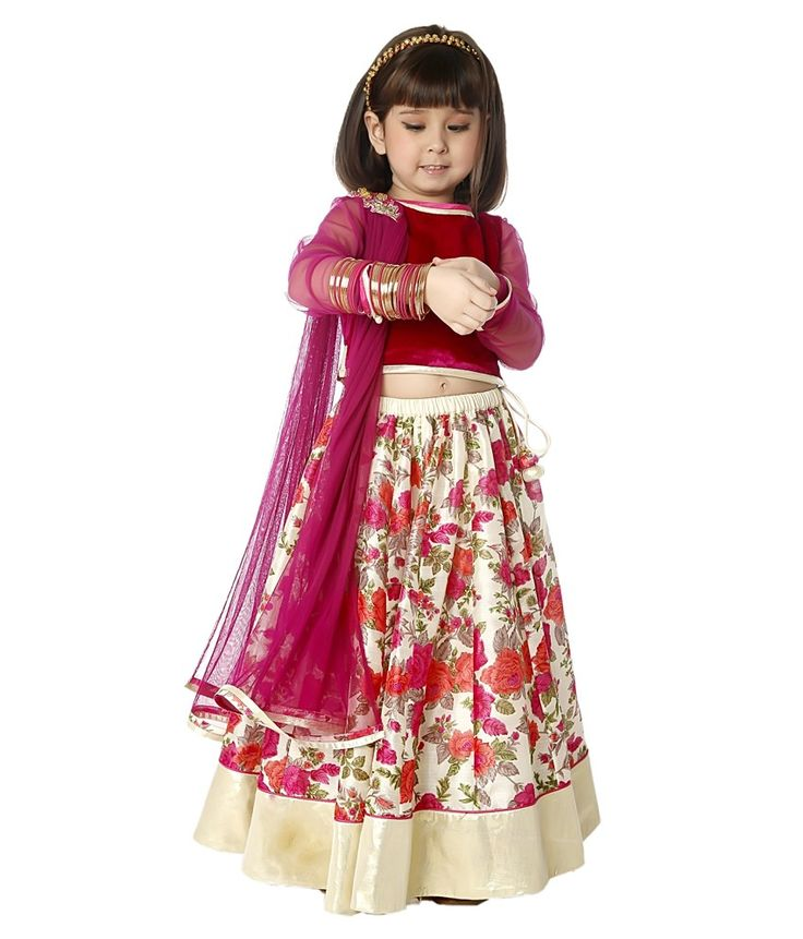 Indian kids dresses for wedding indian for Indian wedding dresses for girls