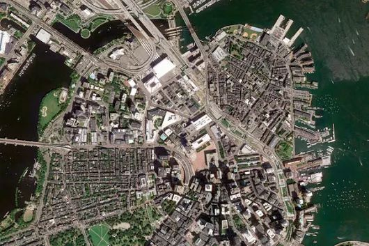 Boston, United States – Earth View from Google