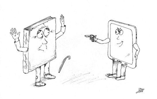 ¿Acabará el libro digital con el libroen papel?