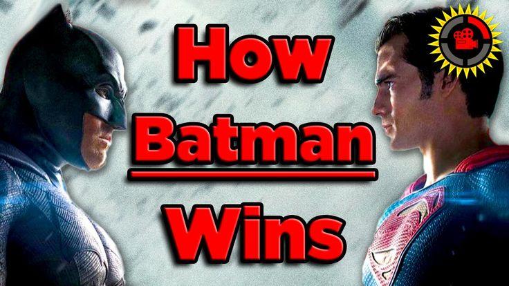 Film Theory: How Batman BEATS Superman! - Batman v Superman - YouTube