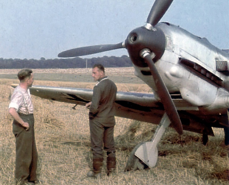yeah,just had my left rudder shot off,i tell ya were stuffed, ,too many spitfires and hurricanes shooting our asses off!!....anyhow,seen any nice big breasted blonde sheilas around? i need a beer ffs....