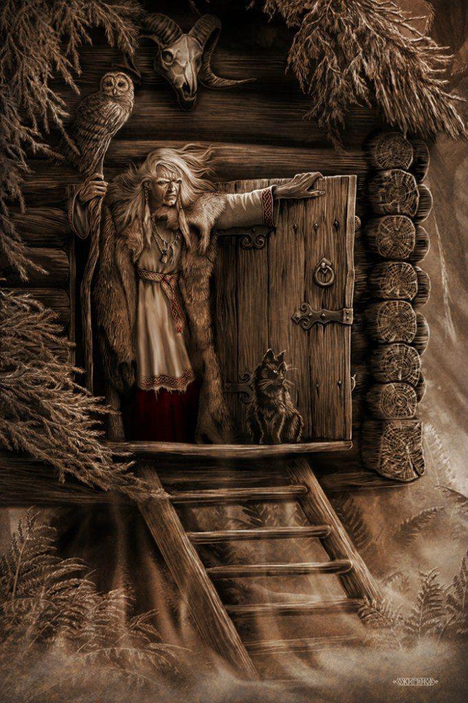 Хочу представить вашему вниманию художника Игоря Ожиганова и его потрясающую серию работ под названием 'Славянский мир'. В этой галерее работ можно увидеть как персонажи славянской, так и скандинавской мифологии. Работы обладают внутренней силой и мощной энергией, помогают более образно и ярко воспринять забытую ныне культуру наших предков... Родился 3 января 1975 года в г.