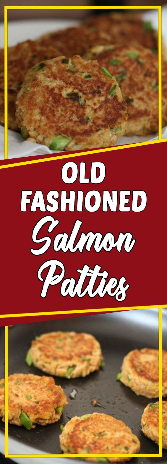 Old Fashioned Salmon Patties #food #dinnerrecipes #dinner #foodphotography #dinnertime #easydinner