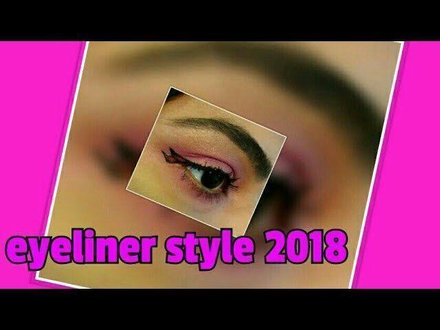 stylish and unique eyeliner and eyeliner wing #HowToDoEyeliner #WingedEyeliner #