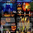 Scary Sounds I & II (2 Halloween Horror Sound Effects CD's - 2013)