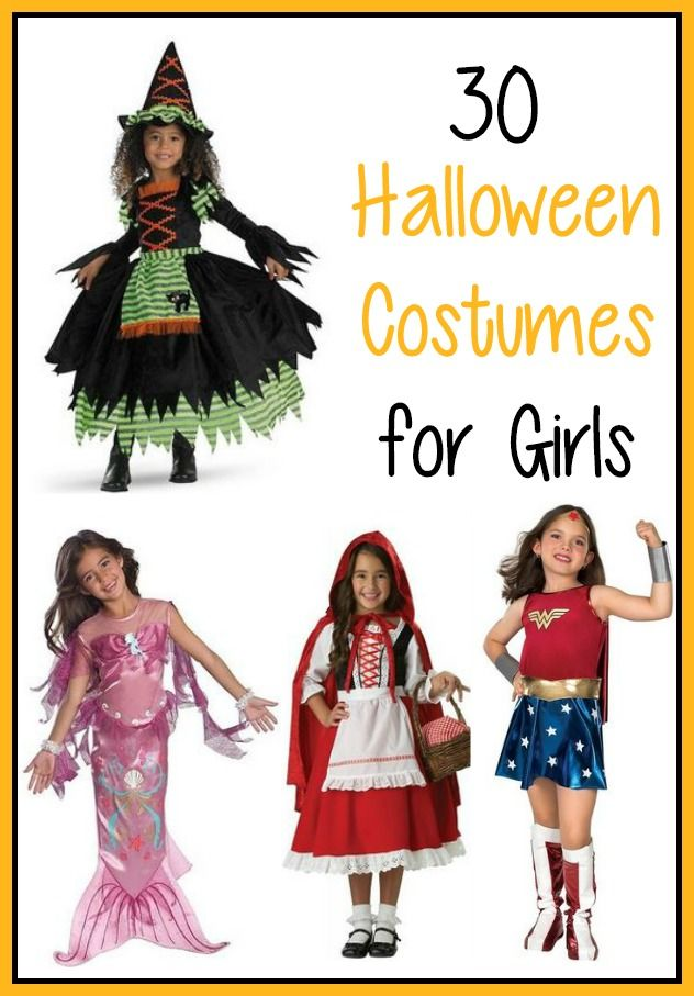 halloween costumes for girls a great list of costume ideas with links halloween - List Of Halloween Costumes Ideas