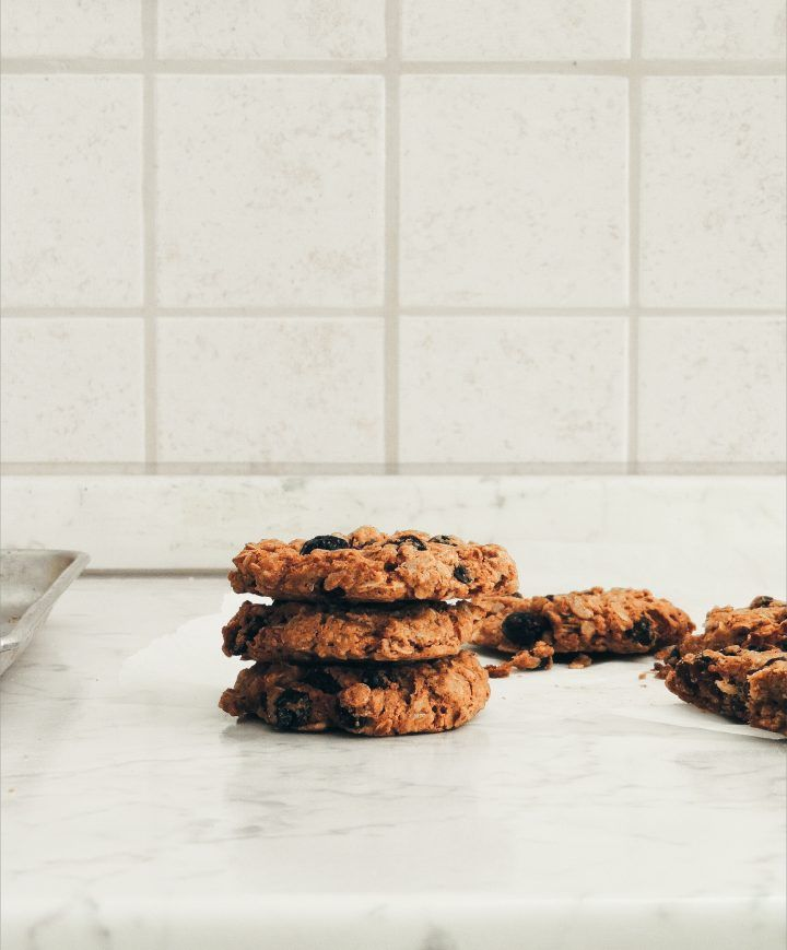 Orange Oatmeal Raisin Cookies