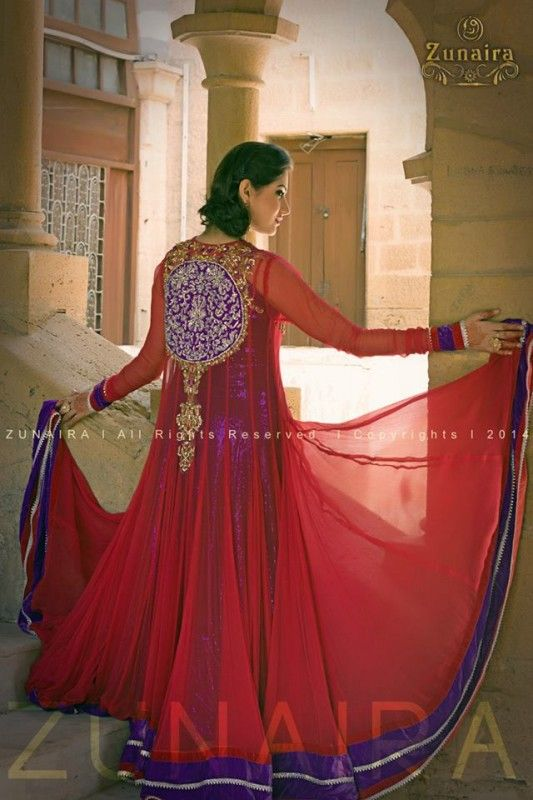 Zunaira's-Lounge-Colorful-Wedding-Wear-Collection-2014-for-Women-12