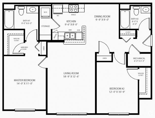 Image Result For 800 Square Feet Floor Plans Small Floor Plans Guest Bedroom Remodel Remodel Bedroom