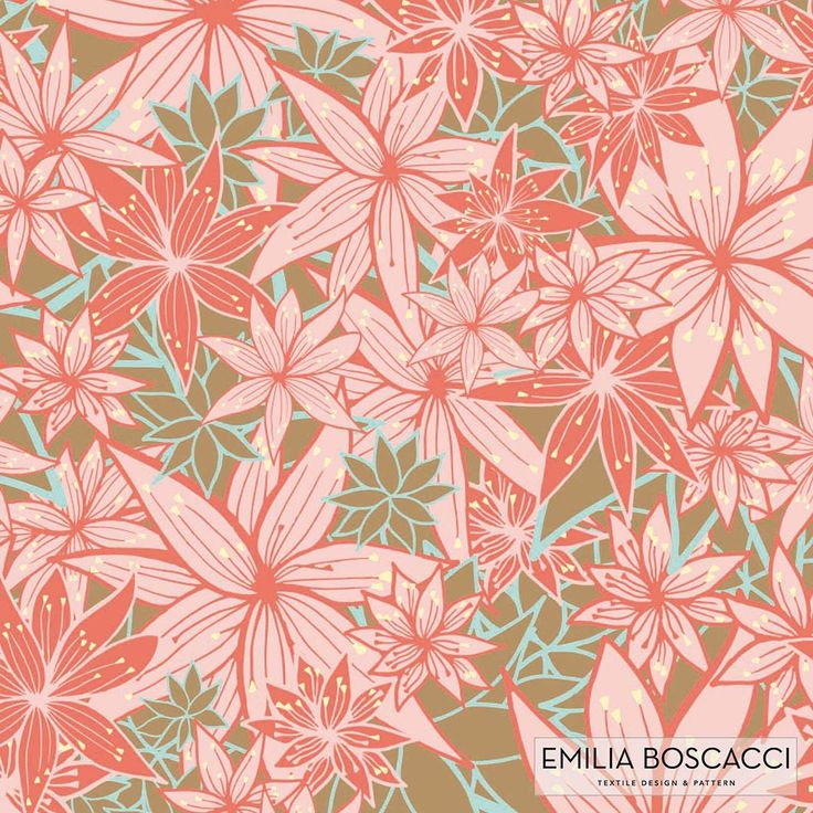 Textile design. Diseño textil. TESSUTI. RAPORT. PATTERN by Emilia Boscacci