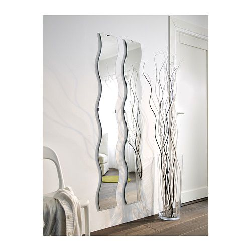Full length mirror for the narrow wall in front of the for Skinny wall mirror