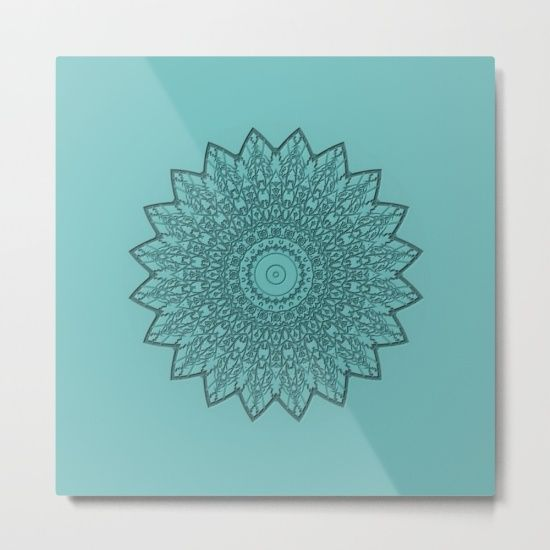 Free Worldwide Shipping on Everything Today! mandala relief - metal print - new in the shop!  Mandala, Kaleidoscope, sanskrit, Symbol...