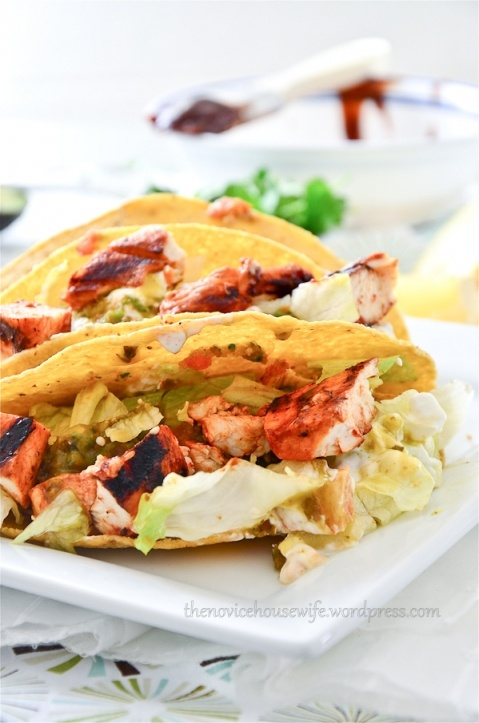 Tacos, Chicken and Chicken tacos on Pinterest