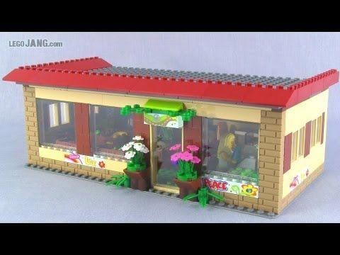 LEGO organic grocery store custom MOC