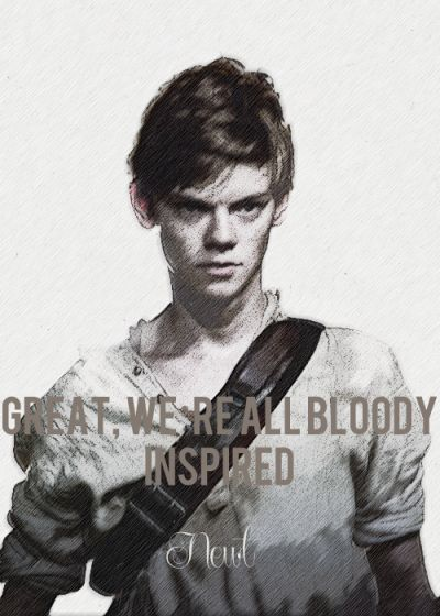 Maze Runner + Quotes