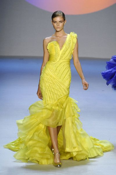 Zac Posen Yellow
