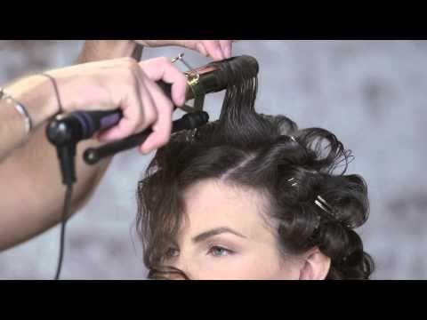 Retro Pin-Up Look Hair Tutorial by TRESemmé Style Studio | Short