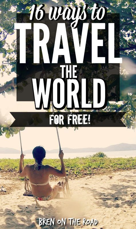 Awesome list! If you've got serious wanderlust but nothing in the bank account, check out this collection of ways to travel the world for free.